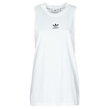 textil Dame Toppe / T-shirts uden ærmer adidas Originals TANK Hvid