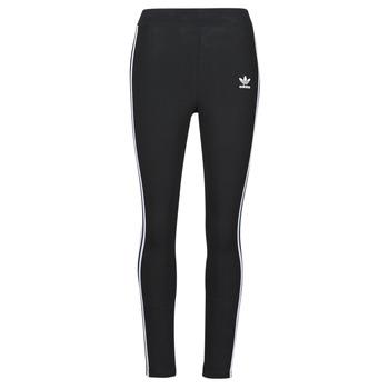 textil Dame Leggings adidas Originals 3 STR TIGHT Sort