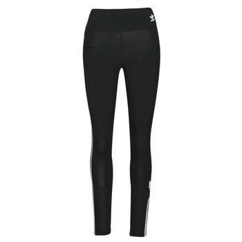 textil Dame Leggings adidas Originals HW TIGHTS Sort