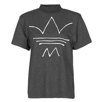 textil Dame T-shirts m. korte ærmer adidas Originals TEE Sort