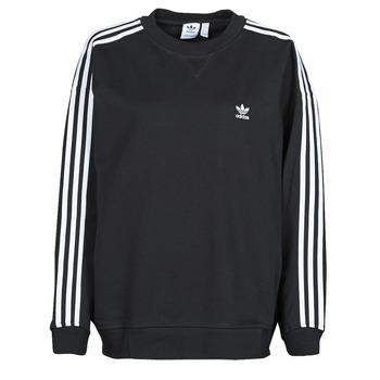 textil Dame Sweatshirts adidas Originals OS SWEATSHIRT Sort