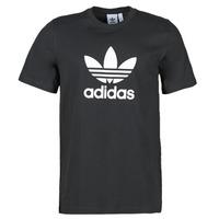 textil Herre T-shirts m. korte ærmer adidas Originals TREFOIL T-SHIRT Sort
