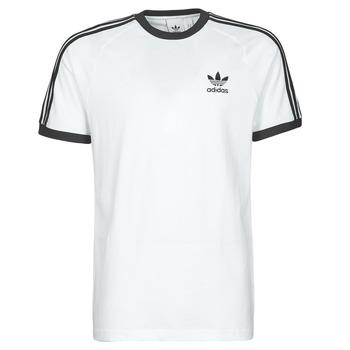 textil Herre T-shirts m. korte ærmer adidas Originals 3-STRIPES TEE Hvid