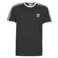 textil Herre T-shirts m. korte ærmer adidas Originals 3-STRIPES TEE Sort