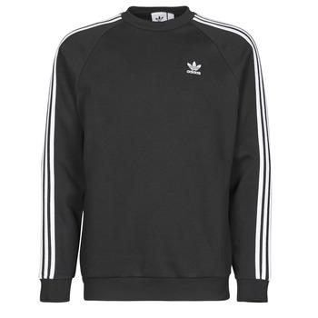 textil Herre Sweatshirts adidas Originals 3-STRIPES CREW Sort