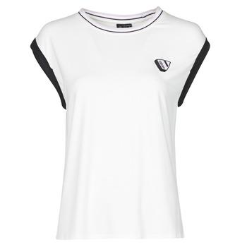textil Dame Toppe / T-shirts uden ærmer Volcom SIIYA KNIT TOP Hvid
