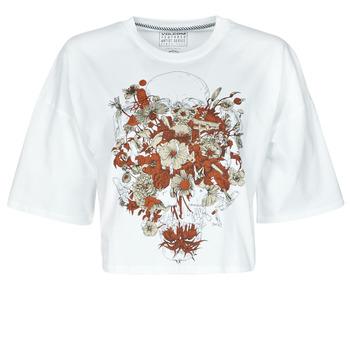 textil Dame T-shirts m. korte ærmer Volcom FA FORTIFEM TEE Hvid