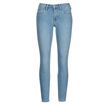 textil Dame Jeans - skinny Lee SCARLETT Blå