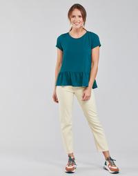 textil Dame Lige jeans Lee CAROL Beige
