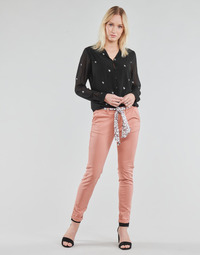 textil Dame Chinos / Gulerodsbukser Le Temps des Cerises LIDY Pink
