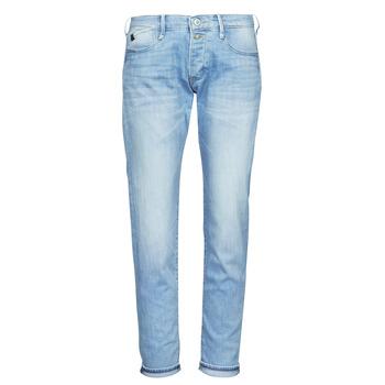 textil Dame Jeans - boyfriend Le Temps des Cerises MACEL Blå