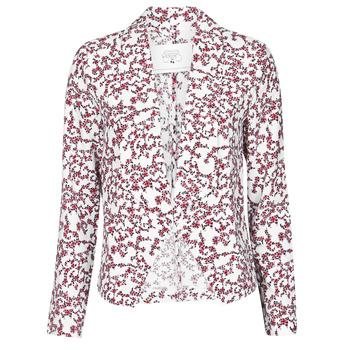 textil Dame Jakker / Blazere Le Temps des Cerises GOYA Hvid