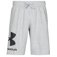 textil Herre Shorts Under Armour UA RIVAL FLC BIG LOGO SHORTS Grå