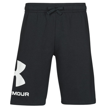 textil Herre Shorts Under Armour UA RIVAL FLC BIG LOGO SHORTS Sort