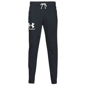 textil Herre Træningsbukser Under Armour UA RIVAL TERRY JOGGER Sort