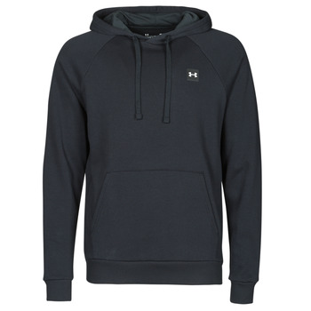 textil Herre Sweatshirts Under Armour UA RIVAL FLEECE HOODIE Sort
