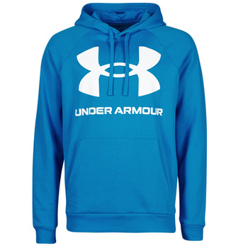 textil Herre Sweatshirts Under Armour UA RIVAL FLEECE BIG LOGO HD Blå