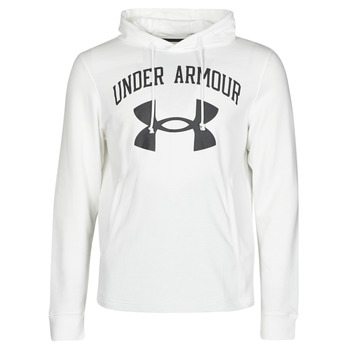 textil Herre Sweatshirts Under Armour UA RIVAL FLEECE BIG LOGO HD Hvid