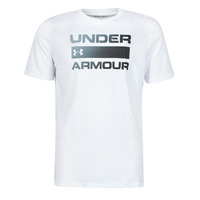 textil Herre T-shirts m. korte ærmer Under Armour UA TEAM ISSUE WORDMARK SS Hvid