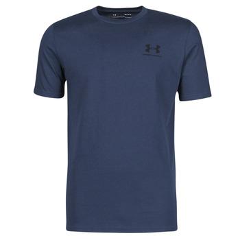 textil Herre T-shirts m. korte ærmer Under Armour UA SPORTSTYLE LC SS Blå