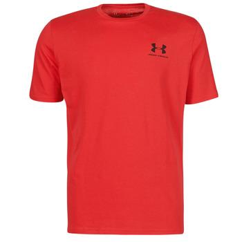 textil Herre T-shirts m. korte ærmer Under Armour UA SPORTSTYLE LC SS Rød