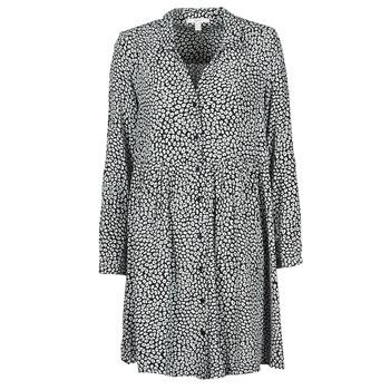 textil Dame Lange kjoler Esprit ROBE PRINT Sort