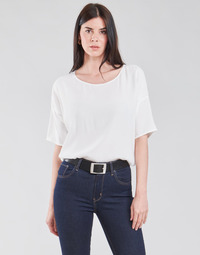 textil Dame Toppe / Bluser Esprit COL V LUREX Hvid