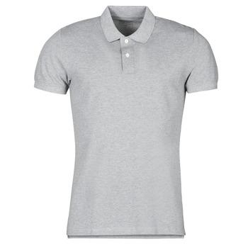 textil Herre Polo-t-shirts m. korte ærmer Esprit COO N PI PO SS Grå