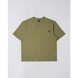 textil Herre T-shirts m. korte ærmer Edwin T-shirt  Oversized vert kaki