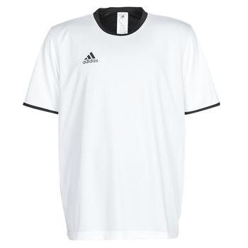 textil Herre T-shirts m. korte ærmer adidas Performance TAN REV JSY Hvid