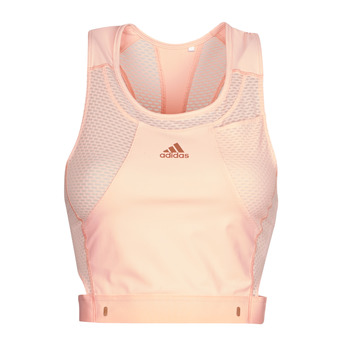textil Dame Sports-BH adidas Performance HEAT.RDY TANK Pink