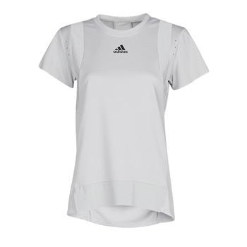 textil Dame T-shirts m. korte ærmer adidas Performance TRNG TEE H.RDY Grå