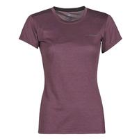 textil Dame T-shirts m. korte ærmer adidas Performance W Tivid Tee Violet