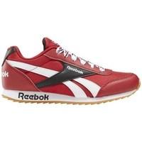 Sko Børn Lave sneakers Reebok Sport Royal CL Jogger Hvid, Rød