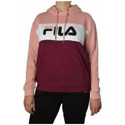 textil Dame Sweatshirts Fila Women Lori Hoody Pink, Bordeaux