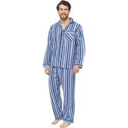 textil Herre Pyjamas / Natskjorte Tom Franks  Blue
