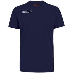 textil Dreng T-shirts & poloer Kappa T-shirt enfant  Tee bleu royal
