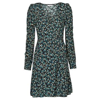 textil Dame Korte kjoler Naf Naf LEO R1 Leo / Sort / Grøn