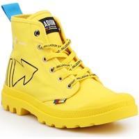 Sko Støvler Palladium Manufacture Pampa Dare REW FWD 76862-709-M yellow