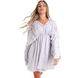 textil Dame Korte kjoler Fracomina FR20SMBARBARA Blå