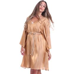 textil Dame Korte kjoler Fracomina FR20SMELISABETH Guld