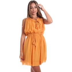 textil Dame Korte kjoler Fracomina FR20SMANA Gul