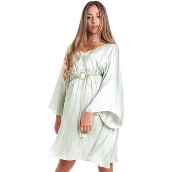 textil Dame Korte kjoler Fracomina FR20SMELISABETH Grøn