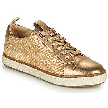 Sko Dame Lave sneakers JB Martin 1INAYA Guld