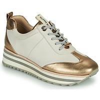 Sko Dame Lave sneakers JB Martin 4CANDIO Hvid / Guld
