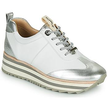 Sko Dame Lave sneakers JB Martin 4CANDIO Sølv / Hvid