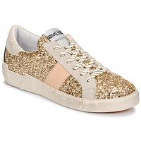 Sko Dame Lave sneakers Meline NKC1381 Guld