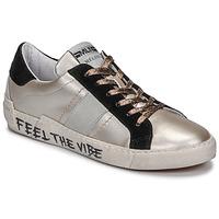 Sko Dame Lave sneakers Meline NK1382 Bronze / Sort