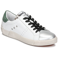 Sko Dame Lave sneakers Meline NKC1392 Hvid / Grøn