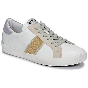 Sko Dame Lave sneakers Meline KUC1414 Hvid / Guld
